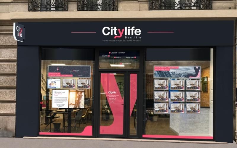 Agence <br/> Citylife <b>Bastille</b>