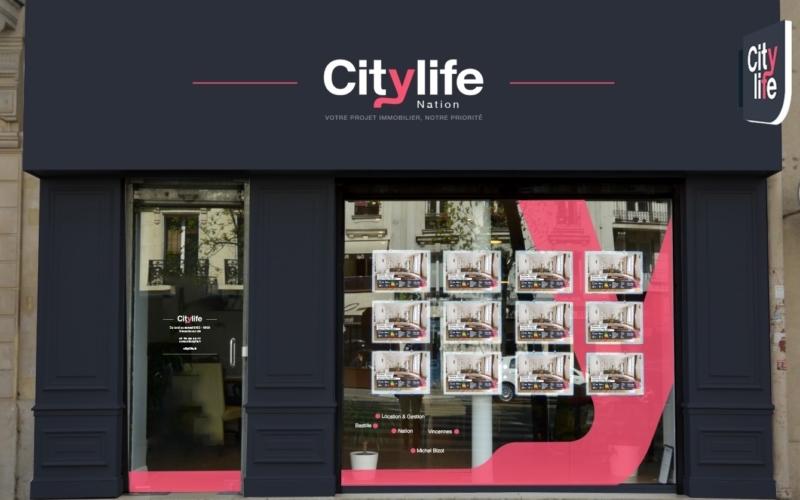 Agence <br/> Citylife <b>Nation</b>