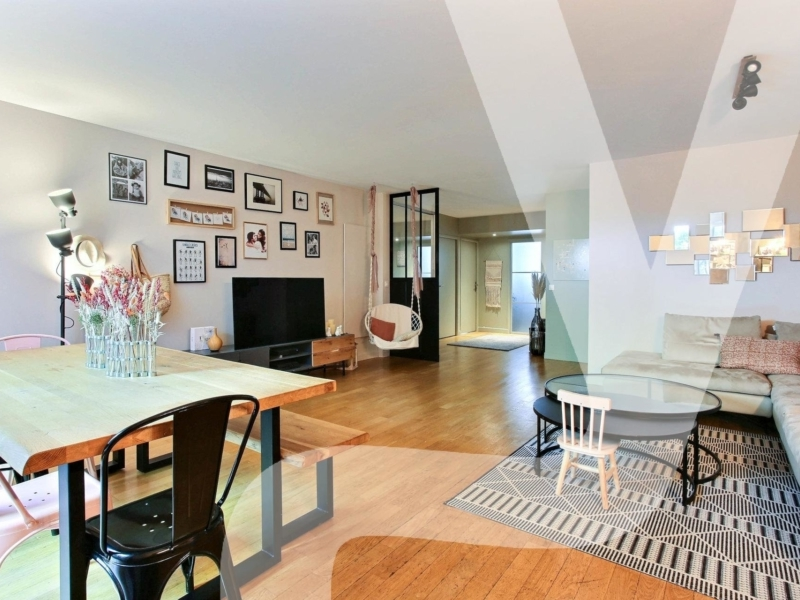 Métro Gambetta – 5 pièces de 107 m² avec terrasse